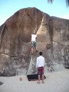 Rock Climbing Photo: ...that hand crack