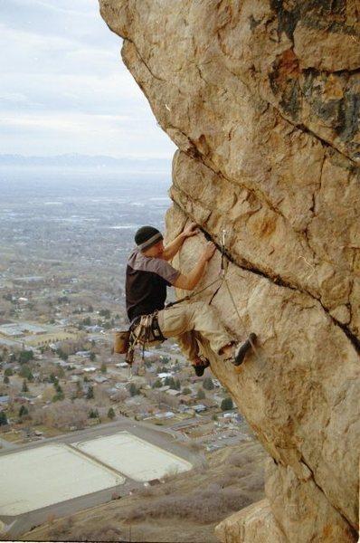 Rock Climbing Photo: Dave Eisensmith on Teardrops....