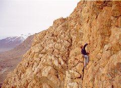 Rock Climbing Photo: Colby Wayment on Homecoming Princess