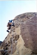 Rock Climbing Photo: How the West Was Won 5.9, Penitente Canyon