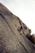 Rock Climbing Photo: Climbing at Hartman Rocks in Gunnison Colorado