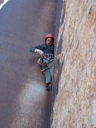 Rock Climbing Photo: Derek at Indian Creek