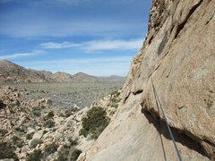 Rock Climbing Photo: big traverse across the The Ledge