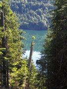 Rock Climbing Photo: Spada Lake