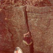 Rock Climbing Photo: Early days in Chandler Pk.