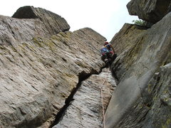 Rock Climbing Photo: Me working out The X Factor 5.7+