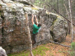 Rock Climbing Photo: small wall.