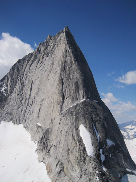 bugaboo spire- mightiest of all ridge climbs