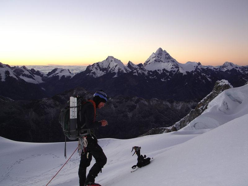 Rock Climbing Photo: sunrise in the blanca.