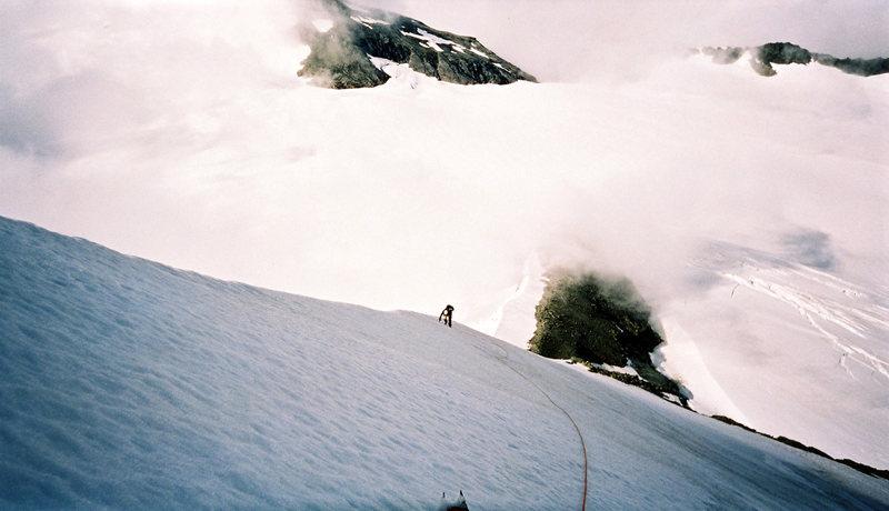 Rock Climbing Photo: SW ridge speed climb
