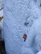Rock Climbing Photo: Jim Guiang on DD. [Thick, 2-9-09]