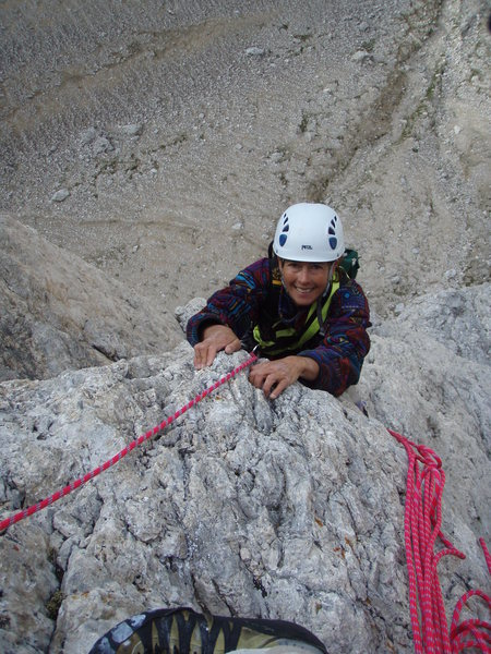 Topping out on pitch 7