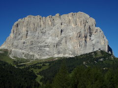 Rock Climbing Photo: East face of Sassolungo