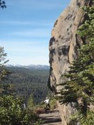 Rock Climbing Photo: Truckee/Tahoe area: Big Chief