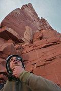 Rock Climbing Photo: base of castelton
