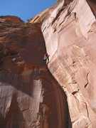 Rock Climbing Photo: It gets Wide.