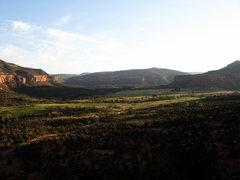 Rock Climbing Photo: A view.