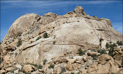 Rock Climbing Photo: Super Slab abd Super Dome to the left. Photo by Bl...