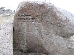 Rock Climbing Photo: dyno boulder