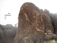 Rock Climbing Photo: the tombstone boulder