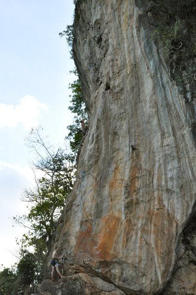 Rock Climbing Photo: leading Cobra Venom