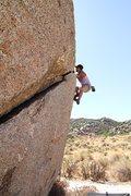 Rock Climbing Photo: Morning shade on Vector Crack.