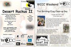 Rock Climbing Photo: Comp Poster.