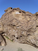 Rock Climbing Photo: This is the face of the boulder; you can see the s...
