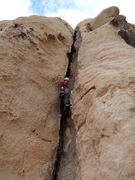 Rock Climbing Photo: Trench Connection - super fun route.