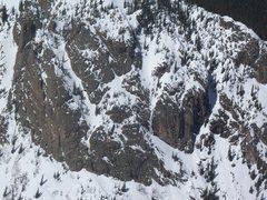 Rock Climbing Photo: Gore ice.
