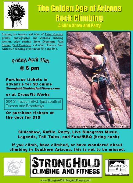 Rock Climbing Photo: Arizona Rock Climbing Slide Show