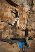 Rock Climbing Photo: now that's a crank
