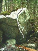Rock Climbing Photo: 1. Caesar 2. Caesar Low