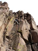 Rock Climbing Photo: Dave enjoying placing some gear.