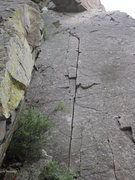 Rock Climbing Photo: Pirouette in Telluride - July 4, 2010.