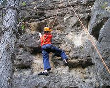 Rock Climbing Photo: Alex climbing in Spearfish Canyon