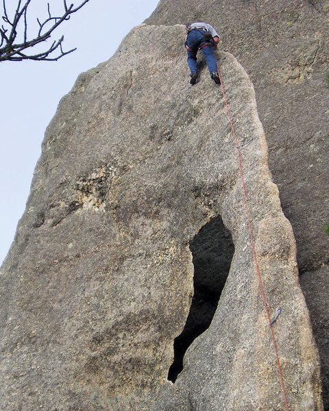 Rock Climbing Photo: Climbing Gossamer