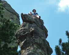 Rock Climbing Photo: Hanging out on Sandburg Peak