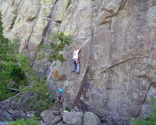Rock Climbing Photo: Doughnuts