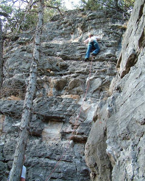Rock Climbing Photo: Nickie