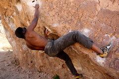 Rock Climbing Photo: Kling & Smirk V2