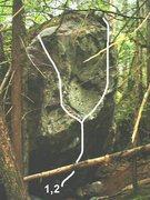 Rock Climbing Photo: 1. Locket Rauncher 2. Black Tongue