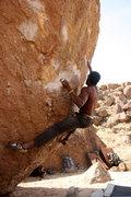 Rock Climbing Photo: Carrot Top V3