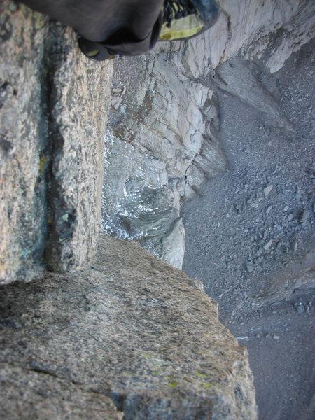 Rock Climbing Photo: Some nice exposure.
