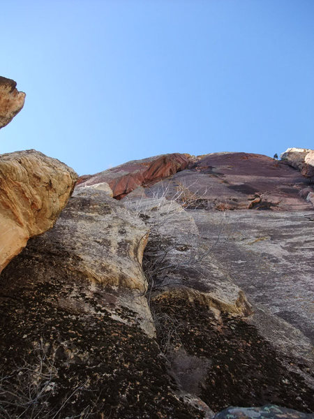 Rock Climbing Photo: another view of The Warrior