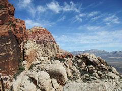 "Rock Climbing Photo: no complaints about the view from the ""approa..."