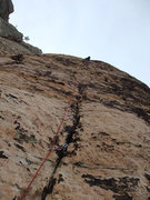 Rock Climbing Photo: and higher up P4
