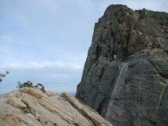 Rock Climbing Photo: looking toward the Wilson summit