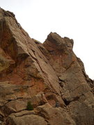 "Rock Climbing Photo: Look at two climbers on ""West Crack"" of ..."