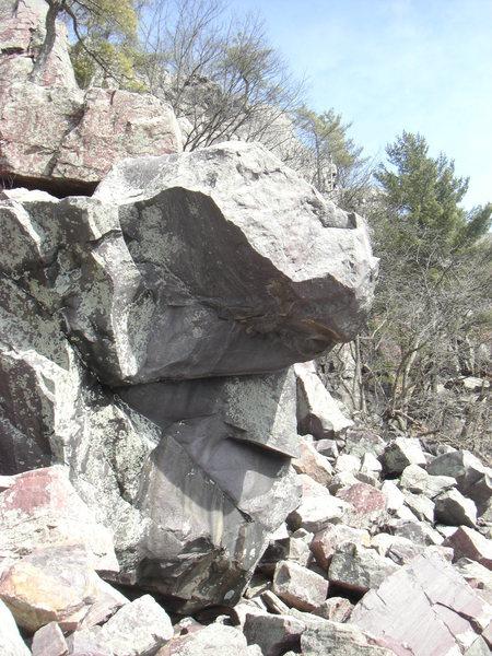 Rock Climbing Photo: Rampart Roof.